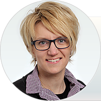 Kristiina Hultin, representative in Central Europe and business coordinator